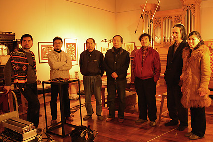 左から 辻さん、立岩さん、草苅さん、小島さん、中西さん、武久さん、山口さん