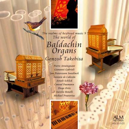 武久源造CD『バルダキン・オルガンの世界』(コジマ録音 ALCD-1121)