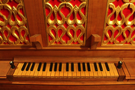 オルガンⅠ の鍵盤