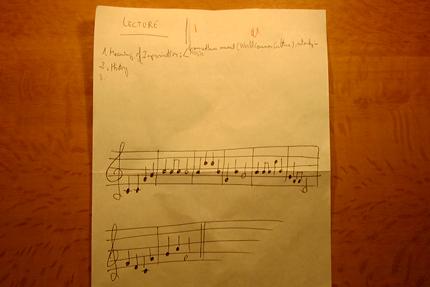 『七夕』の楽譜