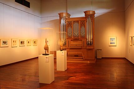 『鈴木まもる絵本原画展 』フィリア美術館 第一展示室