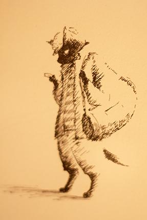 『黒ねこサンゴロウ』かっこいい!