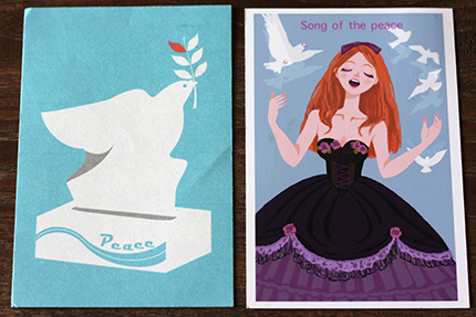 peace card 2014 その4
