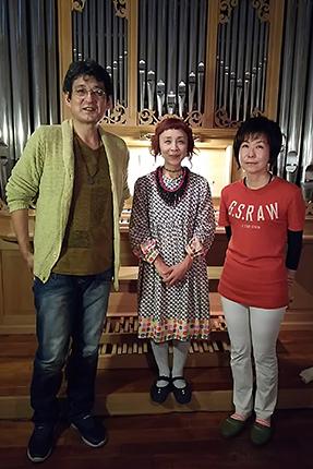 金田賢一さん、丸尾めぐみさん、覚和歌子さん