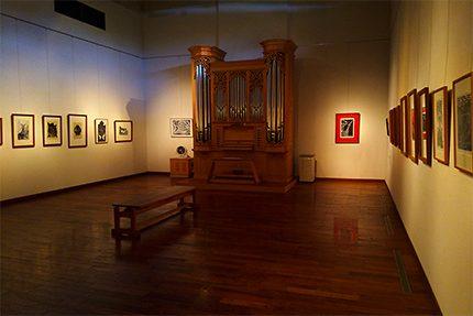 『結城幸司展 うららすいえ ゆっくりゆれあらわれるもの』 はじまりました。第一展示室の展示の様子